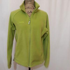 Columbia neon green fleece coat. M. BOGO